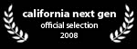 california next gen film fest - official selection